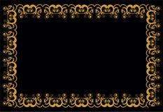 Барочные линии Стоковое Изображение