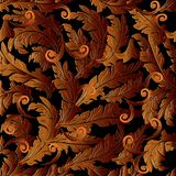 Барочные поверхностные орнаменты Стоковые Изображения RF