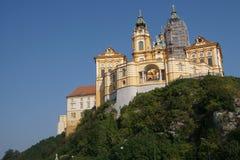 Барочный бенедиктинский монастырь Стоковое Изображение RF