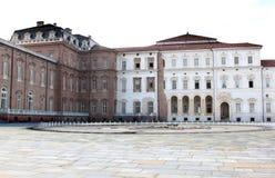 барочный дворец piedmont Италии фонтана королевский Стоковые Фото