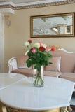 Барочный интерьер гостиницы стиля Стоковая Фотография