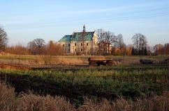 Барочный монастырь в Lutomiersk стоковое изображение rf