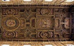 Барочный потолок Стоковые Изображения