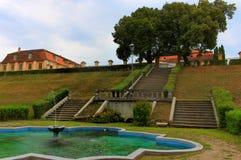 Барочный сад Стоковые Изображения RF