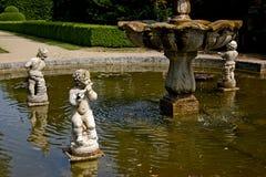 Барочный фонтан Стоковое Изображение