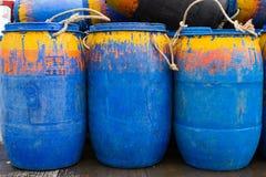 Баррели нефти Стоковая Фотография