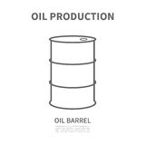 Баррель нефти Стоковые Изображения