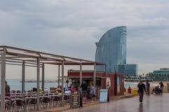 Барселона в Испании Стоковые Фото