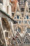 БАРСЕЛОНА, ИСПАНИЯ - 15-ое сентября 2014 la sagrada Стоковое Изображение