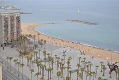 Барселона в Испании Стоковые Изображения