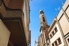 Барселона, Испания, Европа - взгляд колокола башни церков Стоковое фото RF