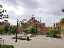 Барселона, июль 2017: Больница святых креста и St Paul Стоковое Фото
