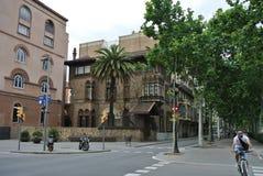 Барселона 1 полет s птицы Стоковое Изображение