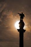 Барселона Christopher Columbus стоковые изображения rf