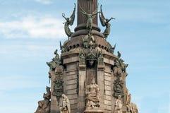 Барселона Christopher Columbus стоковые фото