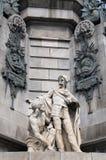 Барселона Christopher Columbus стоковая фотография rf