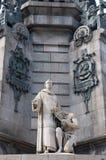 Барселона Christopher Columbus стоковое изображение rf