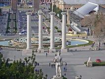 Барселона Fira Стоковое Изображение