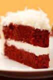 бархат красного цвета торта Стоковые Изображения