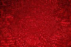 бархат текстуры тканья предпосылки красный Стоковая Фотография
