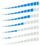 Бары загрузки, прогресс, индикаторы прочности, родовые метры с иллюстрация штока