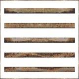 бары металла ржавые Стоковые Фото