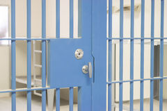Бары тюрьмы Стоковое Изображение