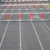 Барьеры следа стоковое изображение rf