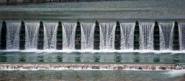 Барьер воды стоковые изображения