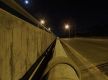 Барьер ночи Стоковая Фотография