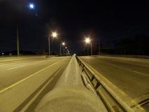 Барьер ночи Стоковое Изображение