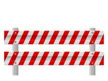 Барьер обеспечения безопасности на дорогах бесплатная иллюстрация