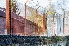 Барьер ржавчины Стоковая Фотография