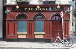 Бар Джордж в Дублине Стоковые Изображения
