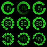 Бар загрузки прогресса Комплект индикаторов Стоковые Фото