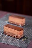 Бар каштана шоколада Стоковое Фото
