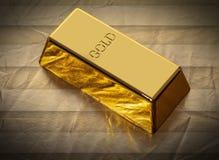 Бар конца-вверх золота стоковые фото
