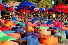 Бар пляжа Бали Canggu Стоковое Изображение RF