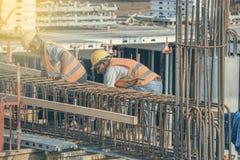 Бар 2 подкрепления связей работников Стоковые Фото