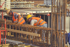 Бар 5 подкрепления связей работников Стоковое Фото
