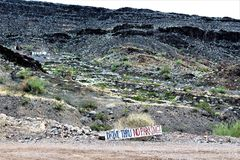 Бар пустыни, Parker, Аризона, Соединенные Штаты Стоковое Фото