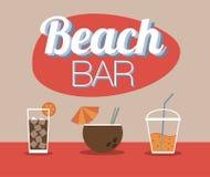 Бар пляжа Стоковое Фото