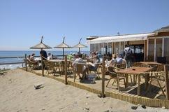 Бар пляжа Стоковая Фотография