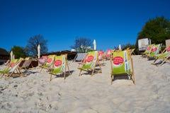 Бар пляжа Стоковые Изображения
