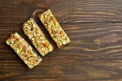 Бар granola закуски энергии стоковая фотография rf