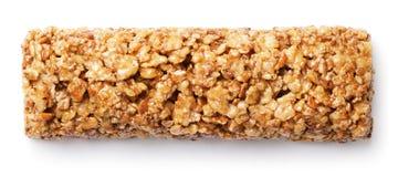бар granola, muesli или бар хлопьев изолированный на белизне Стоковые Изображения RF