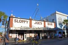 Бар ` s небрежного Джо, Key West, Флорида, США Стоковая Фотография