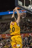 Баскетболист Стив Zack стоковая фотография