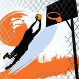 баскетболист Стоковые Фото