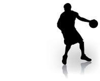 баскетболист Стоковое Изображение